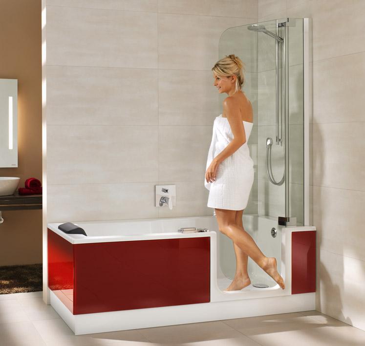 Kleines Bad - Ganz groß! Mit der TWINLINE Duschbadewanne!