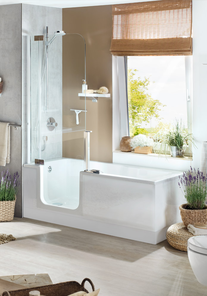 TWINLINE 2 - The bathtub of the future | Artweger