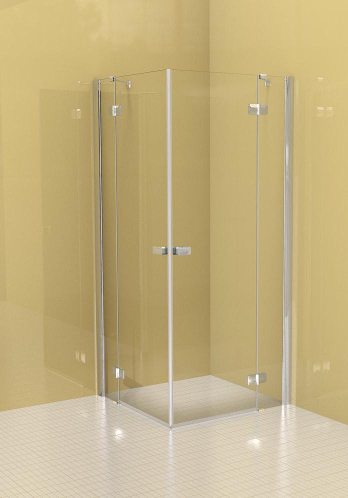 duschkabine 3 seitig geo made for you eckdusche x x cm verchromt with duschkabine 3 seitig. Black Bedroom Furniture Sets. Home Design Ideas