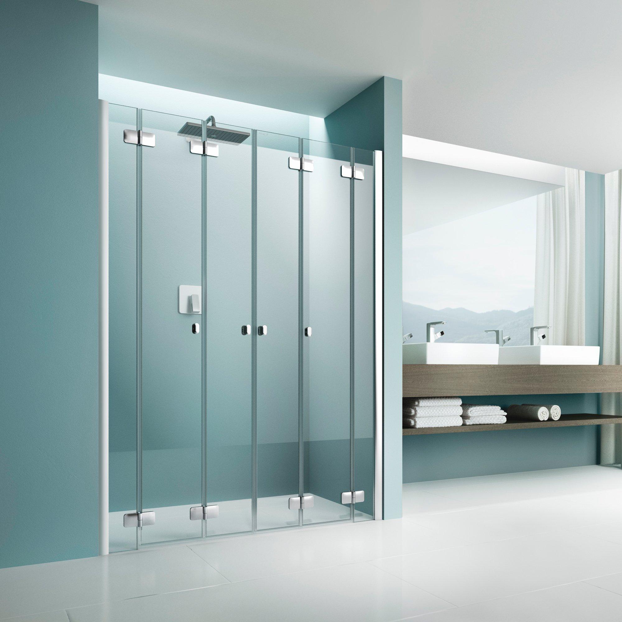 artweger dusch faltw nde f r mehr raum im bad. Black Bedroom Furniture Sets. Home Design Ideas
