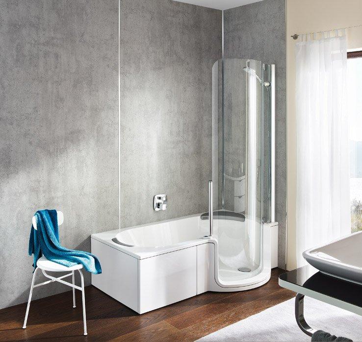 Wandpaneele von ARTWEGER   Neues Bad ohne Neuverfliesen