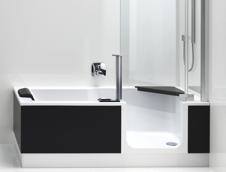 Duschbadewanne TWINLINE 2 - Badewanne der Zukunft | Artweger