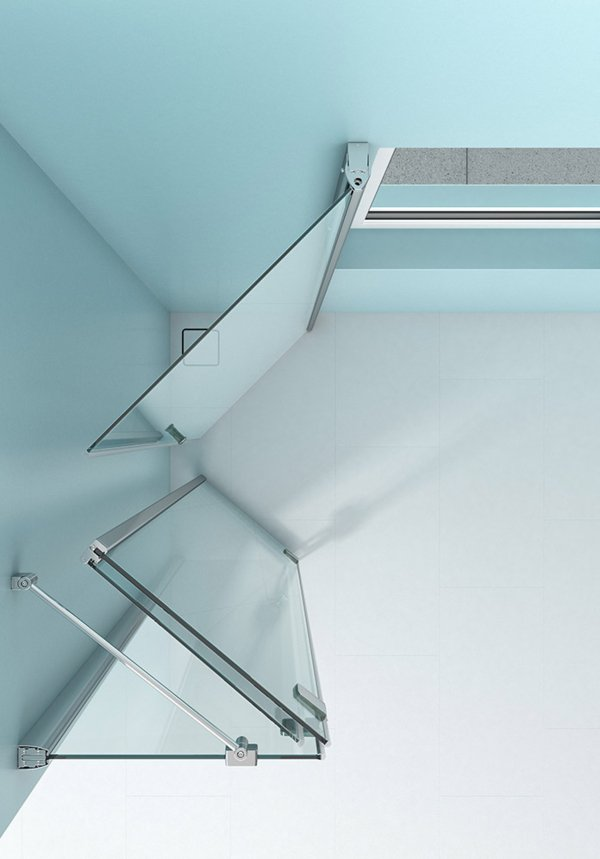 ARTWEGER 360 Window solution 45 degrees (folded) | © Artweger GmbH. & Co. KG