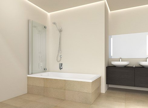 Tub folding screens without fixed part | © Artweger GmbH. & Co. KG