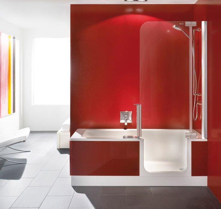 Duschbadewanne TWINLINE 2 - Badewanne der Zukunft | Artweger | {Duschbadewanne mit tür 59}