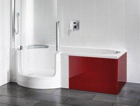 duschbadewanne twinline 1 das 2x1 im bad artweger. Black Bedroom Furniture Sets. Home Design Ideas