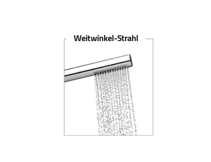 Strahlarten Handbrause STICK | © Artweger GmbH. & Co. KG