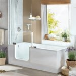 TWINLINE 2 with glass tub skirt | © Artweger GmbH. & Co. KG