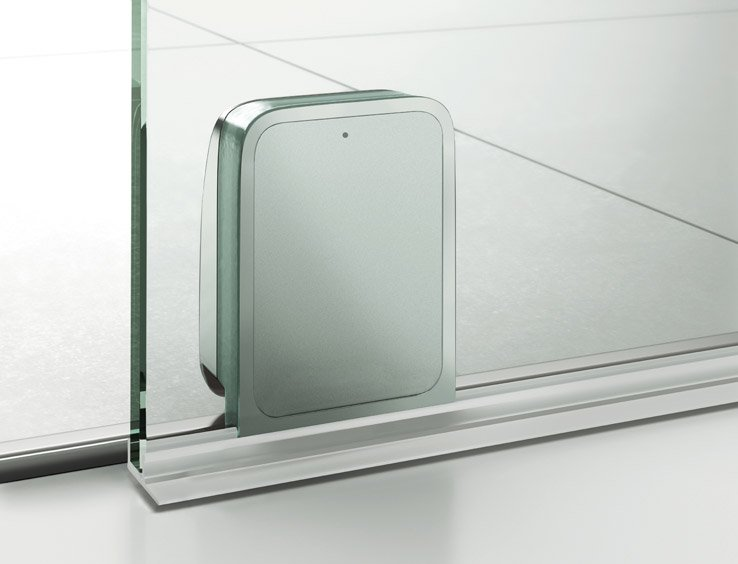 Duschkabine Schiebetür Reinigen artweger 360 schiebetür dusche - bodengeführt & dezent