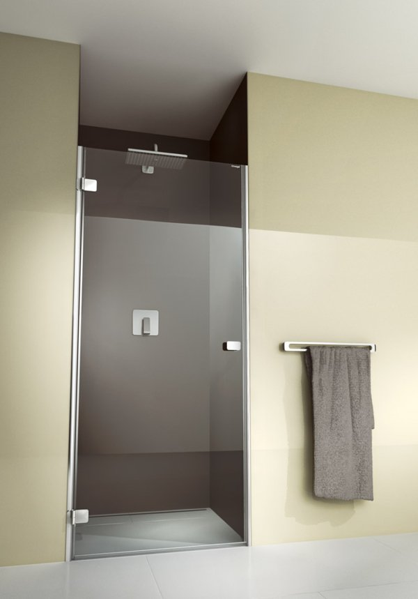 ARTWEGER 360 Swinging door in niche without an anchored side part, frameless, handle horizontal | © Artweger GmbH. & Co. KG