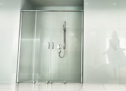 Showers in an alcove | © Artweger GmbH. & Co. KG