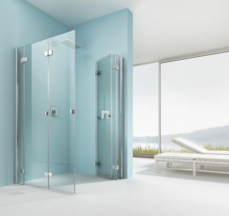 artweger 360 faltt r dusche in der ecke 1 seite weggeklappt artweger gmbh co kg. Black Bedroom Furniture Sets. Home Design Ideas