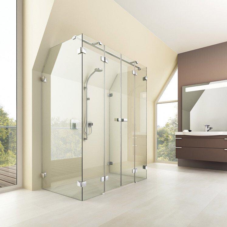artweger 360 schiebet r dusche bodengef hrt dezent. Black Bedroom Furniture Sets. Home Design Ideas