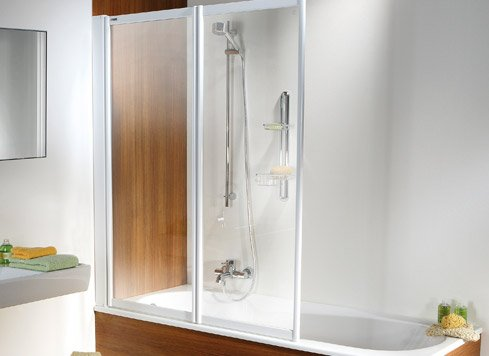 Tub folding screen for rectangular bathtubs | © Artweger GmbH. & Co. KG