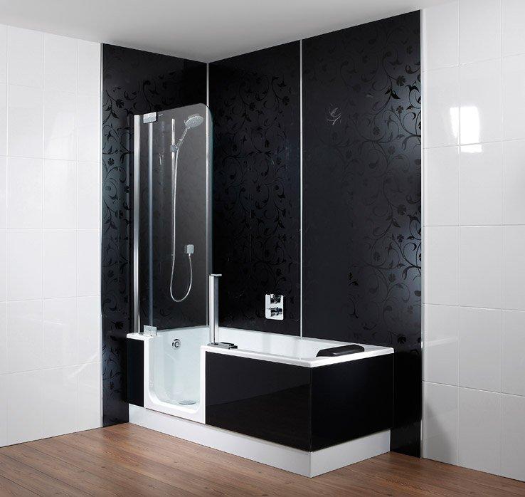 Wandpaneele von ARTWEGER - Neues Bad ohne Neuverfliesen! | {Duschbadewanne twinline 33}
