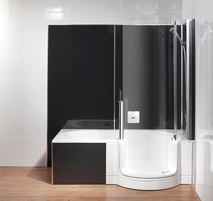 Wandpaneele von artweger neues bad ohne neuverfliesen - Paneele badezimmer ...