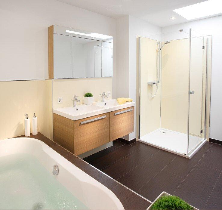 Pflegeleichter Duschplatz Für Die Badrenovierung